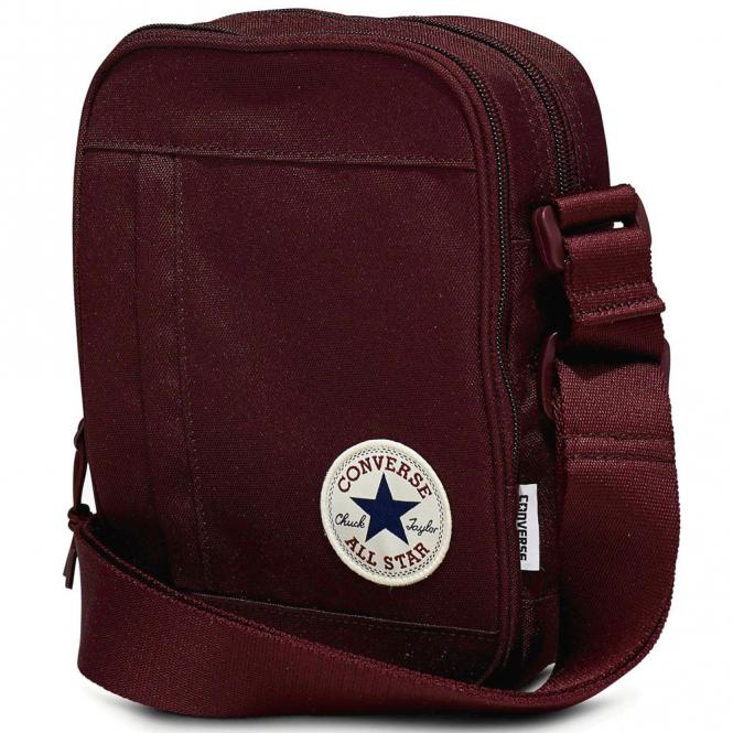 Converse Accessories Converse Burgundy Side Bag 10003338 - Converse ... 1e517b12def14