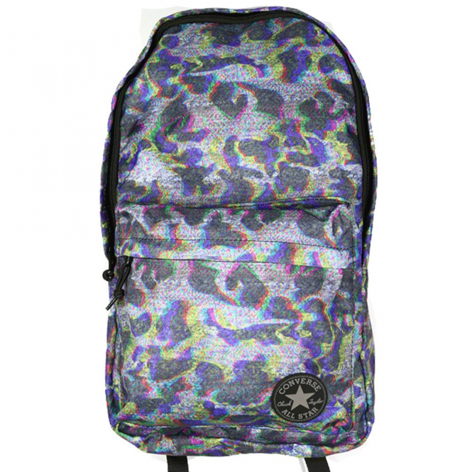 89ce6fc94fc Converse Accessories Converse Backpack Bag Grey Bright Camo 10003331 ...