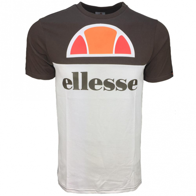 Ellesse Arbataz T-Shirt Brown White