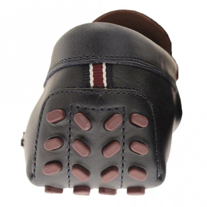 4df6e0a68 Lacoste Footwear Lacoste Herron 317 Navy Blue Leather Slip On Loafer ...