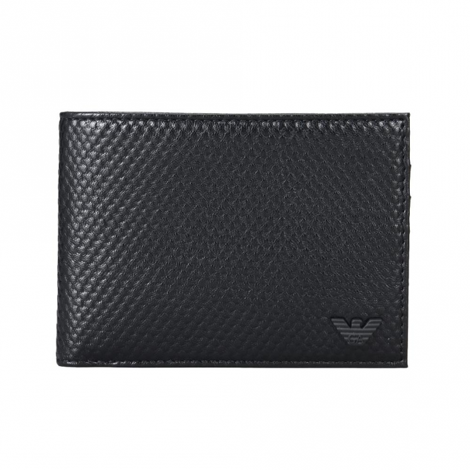 Armani Jeans Black Wallet PU Leather 938012 7A941