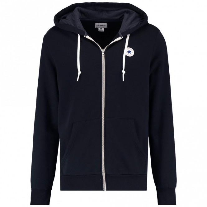 Converse All Star Navy Zip-Up Hoody Sweat 10004627