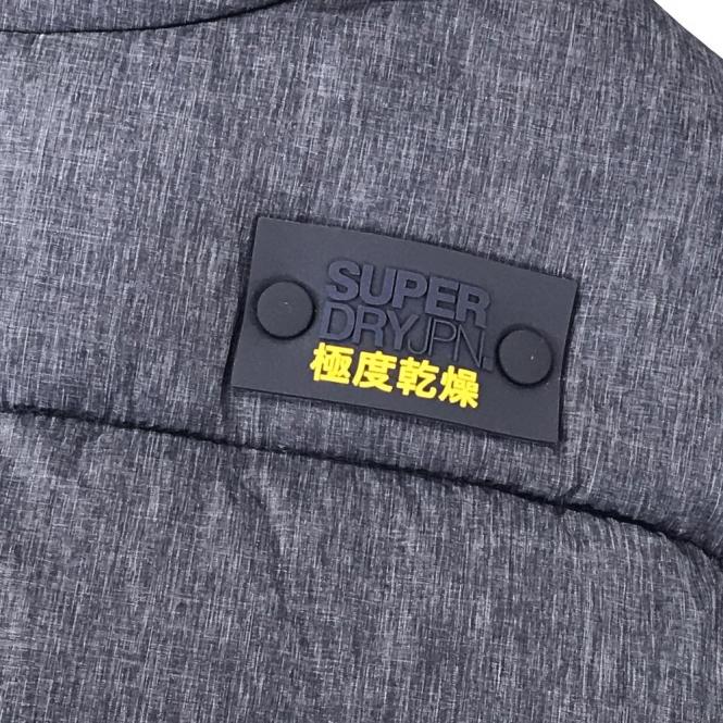 Superdry Superdry Sports Puffer Gilet Indigo Blue EX7