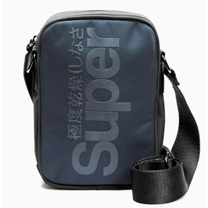 7d573d4270 Superdry Superdry Premium Festival Side Bag Navy Black JYC ...