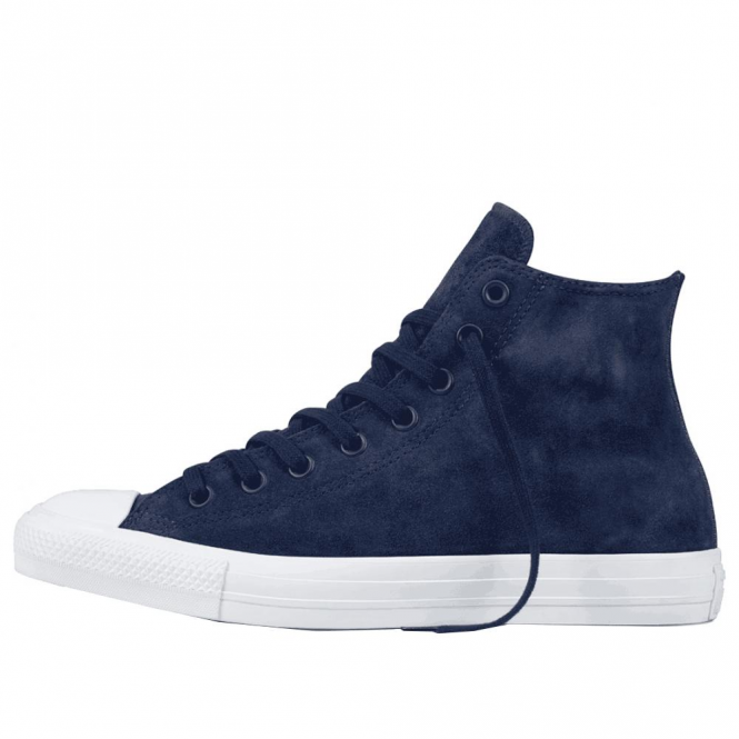 bfef928bb06e Converse Footwear Converse All Star Midnight Navy Suede Hi Top ...