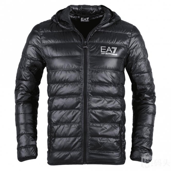 EA7 Emporio Armani Emporio Armani EA7 Ultra-Light Down Hooded Jacket ... 6295da35a85