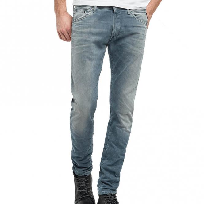 b82c42ec5f166 Replay Jondrill Stretch Skinny Fit Light Blue Denim Jeans MA931 67C 162 009