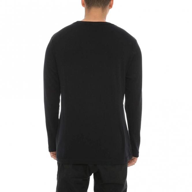 T Long Black Sleeve Ellesse Anthracite Grazie Shirt txq0wF4w