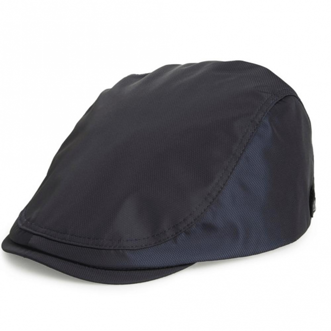73fe0917acc Ted Baker Ted Baker Robbyz Navy Textured Flat Cap - Ted Baker from ...