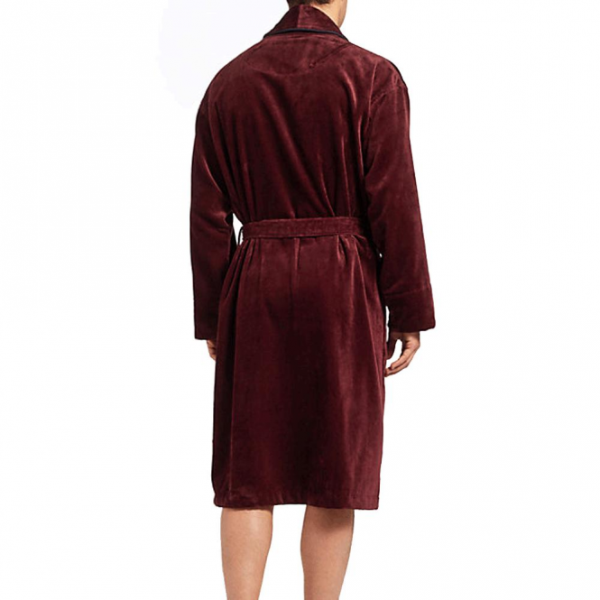 Ted Baker Ted Baker Tarinka Cotton Towelling Dressing Gown Dark Red ...
