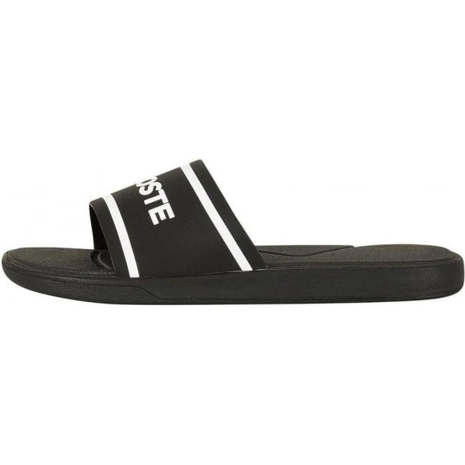 d206e9716f3226 Lacoste Footwear Lacoste L.30 118 Black Slide Sport Sandals ...
