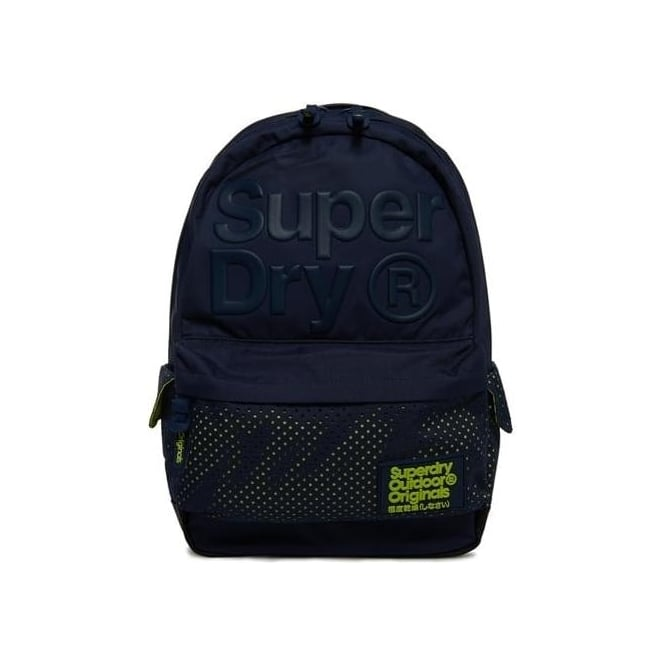 Superdry Buff Montana Backpack Bag Navy 11S