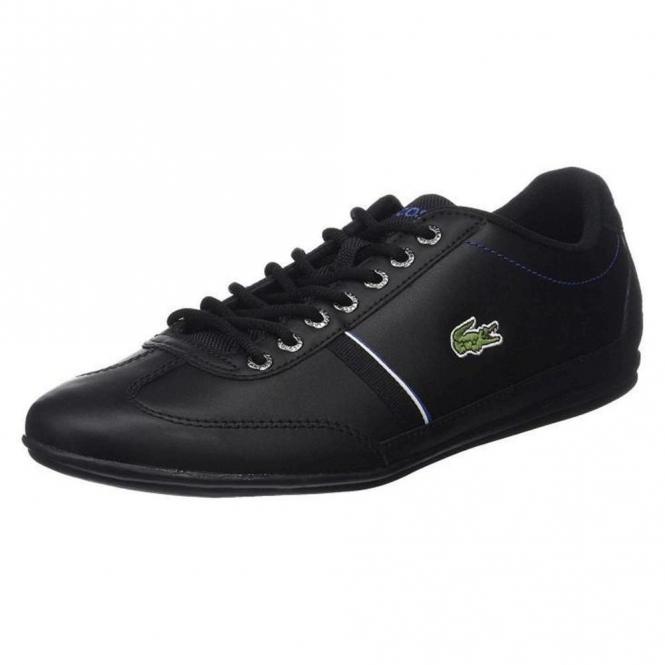 f8e1a397d18c Lacoste Footwear Lacoste Misano Sport 118 Black Trainers - Lacoste ...
