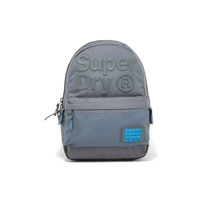 Superdry Buff Montana Backpack Bag Grey 05Q