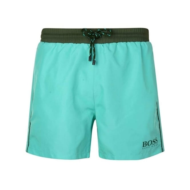 d045b9c45 Hugo Boss Hugo Boss Starfish Swim Shorts Green 442 50269488 - Hugo ...