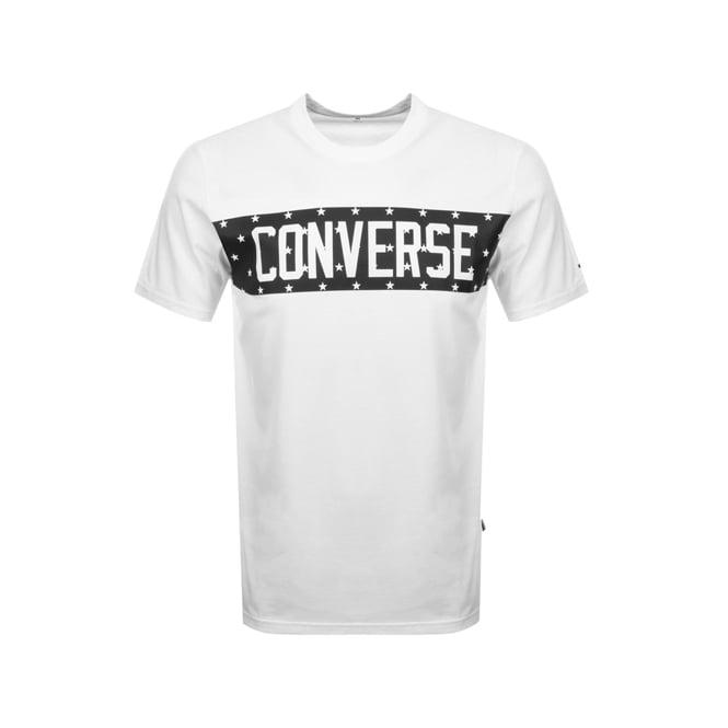 39bda054b Converse Converse Star Block Logo T-Shirt White 10006753
