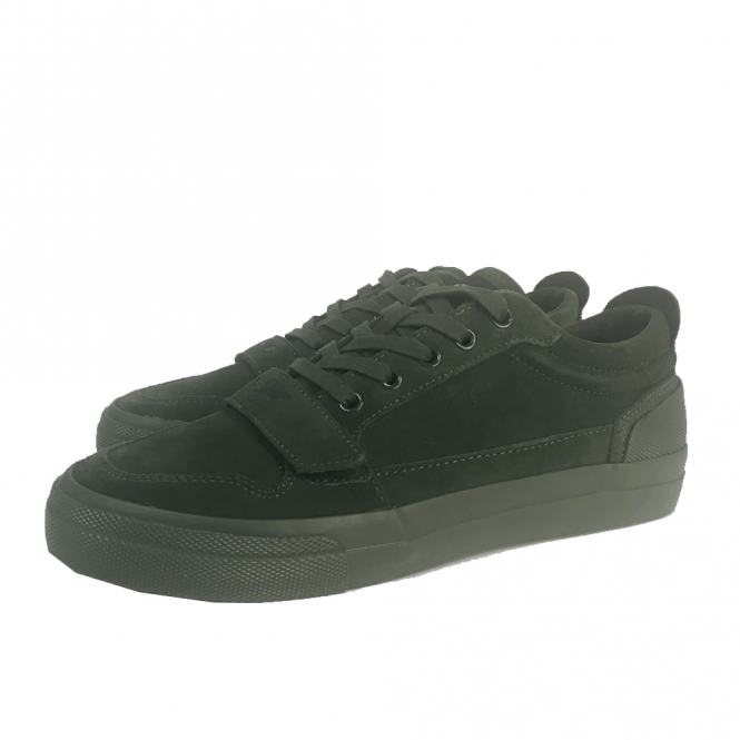 2b7c502f271 Creative Recreation Creative Recreation Legato 218 Green Suede Trainers