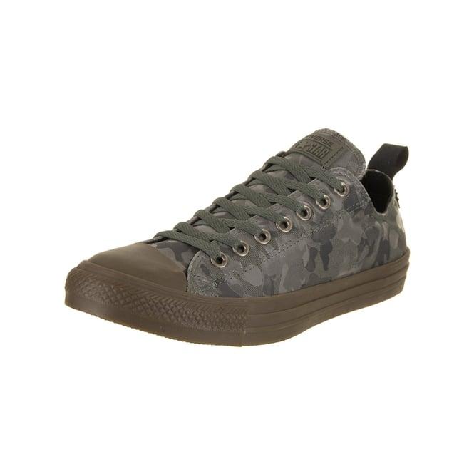 db184127902d Converse Footwear Converse All Star Khaki Grey Camo Print CTAS Ox ...