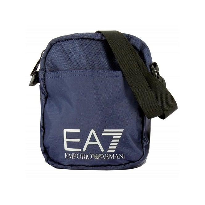 03a93e1a40 EA7 Emporio Armani EA7 Blue Nylon Side Bag 275658 - EA7 Emporio ...