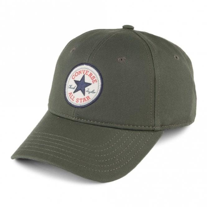 Converse Accessories Converse Khaki Green Baseball Cap CON301 ... 8163a4c82c8