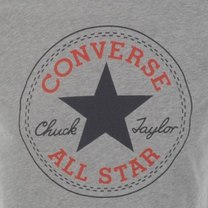 512b3ab2 Converse Converse All Star Big Logo T-Shirt Grey Marl 08335C ...