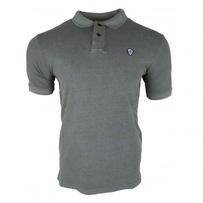 dc79e0f6 Replay Replay Logo Badge Polo T-Shirt Grey M3661 - Replay from Club ...