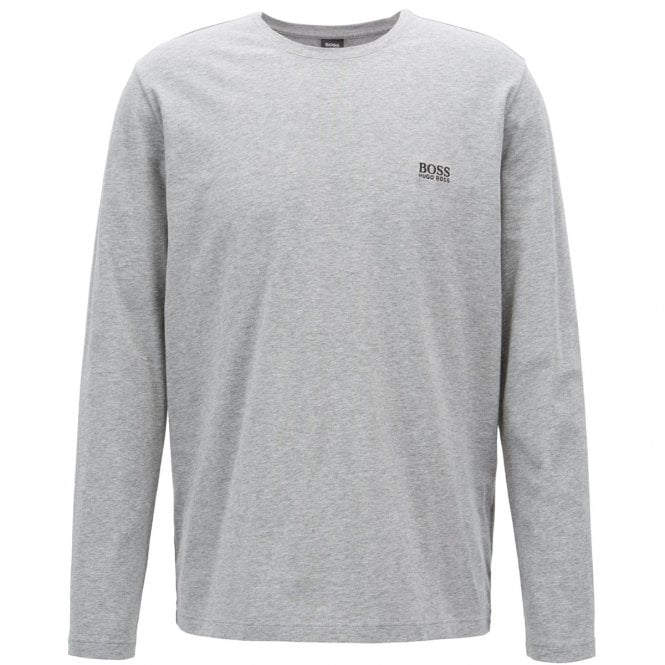 Hugo Boss Hugo Boss Mix   Match Long Sleeve Stretch T-Shirt Grey 033 ... 60656eaf8