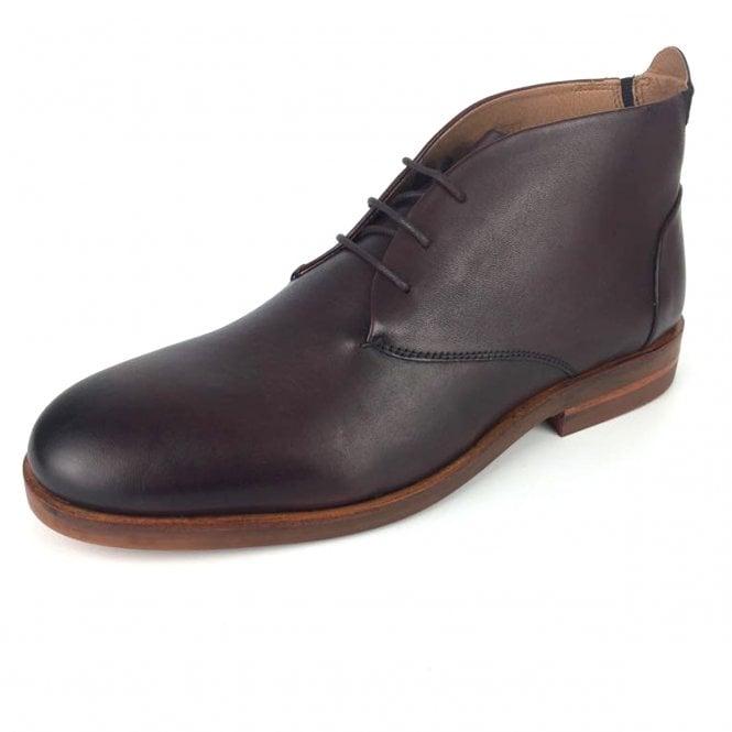 Hudson Hudson Bedlington Brown Leather Chukka Boots Hudson From