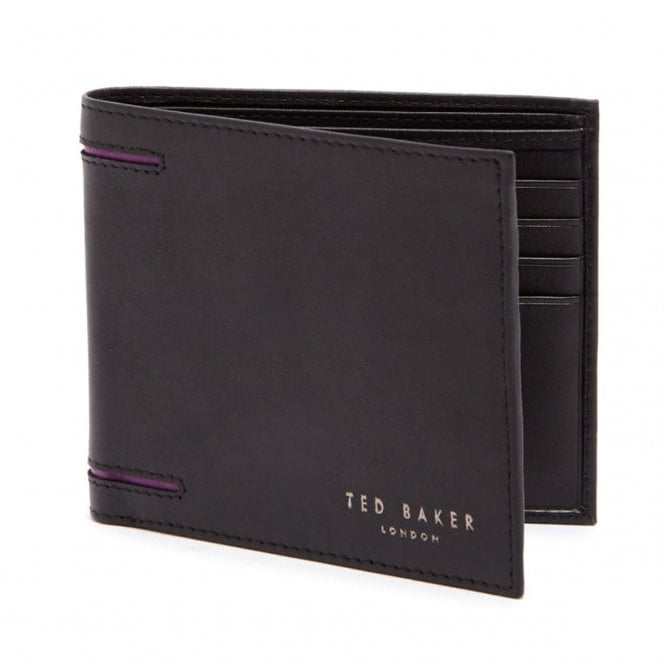 f0fb96bc17df0f Ted Baker Ted Baker Figset Black Leather Wallet   Card Holder Gift ...