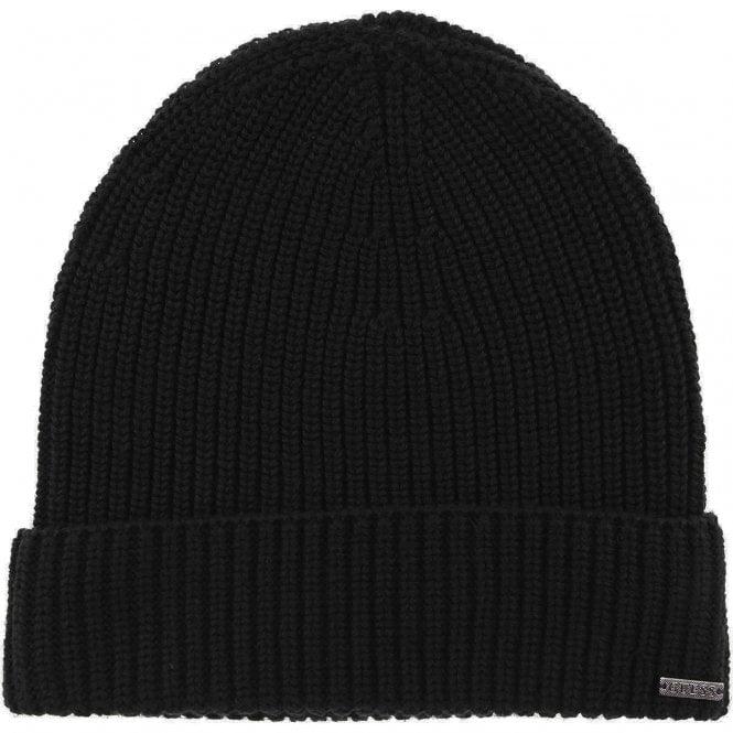 Guess Guess Black Beanie Hat M84Z36Z2201-JBLK - Guess from Club JJ UK e4b9d26311e