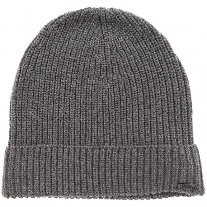 Guess Guess Grey Beanie Hat M84Z36Z2201-MCH - Guess from Club JJ UK 8a50f8f80a4