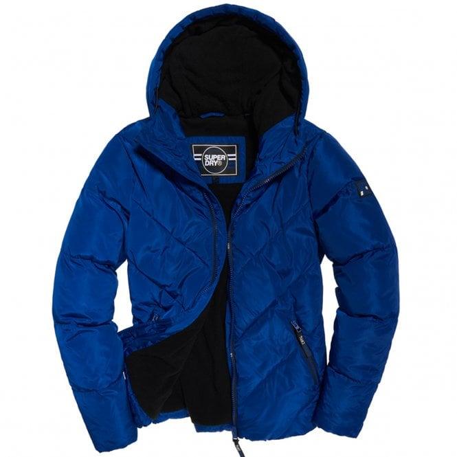 Superdry Blue Xenon Padded Jacket VI9