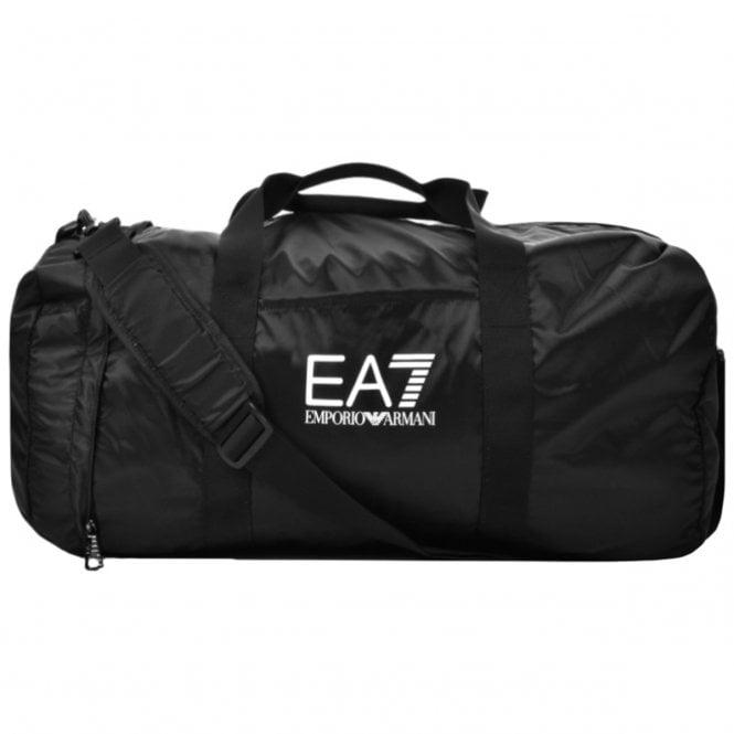 1571cb1fd293 EA7 Emporio Armani EA7 Emporio Armani Black Gym Holdall Bag 275668