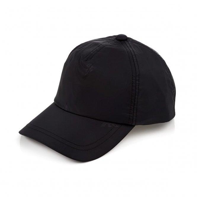 11f065895d8 Emporio Armani Emporio Armani Black Nylon BaseBall Cap 627515 8A993 ...