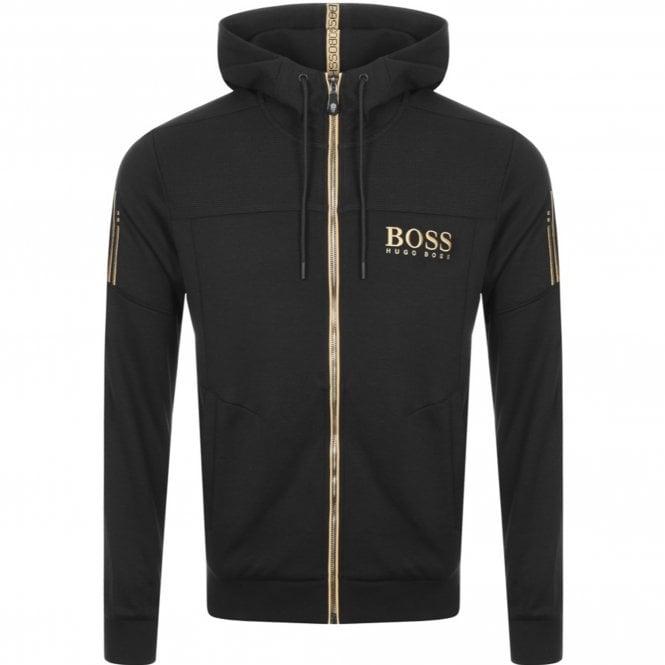 buying cheap 2019 factory price meet Boss Green Boss Saggy Black 003 Zip Up Hoody Sweatshirt Jacket 50387166
