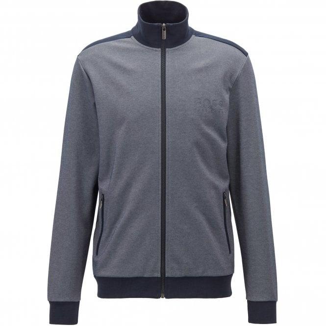 c18244fe Hugo Boss Hugo Boss Navy 403 Track Jacket Zip Up Sweatshirt 50392063 ...