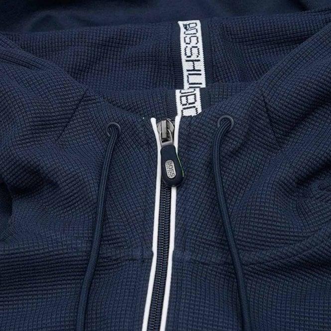 1cdd2b421 Boss Green Boss Saggy Navy 410 Zip Up Hoody Sweatshirt Jacket ...