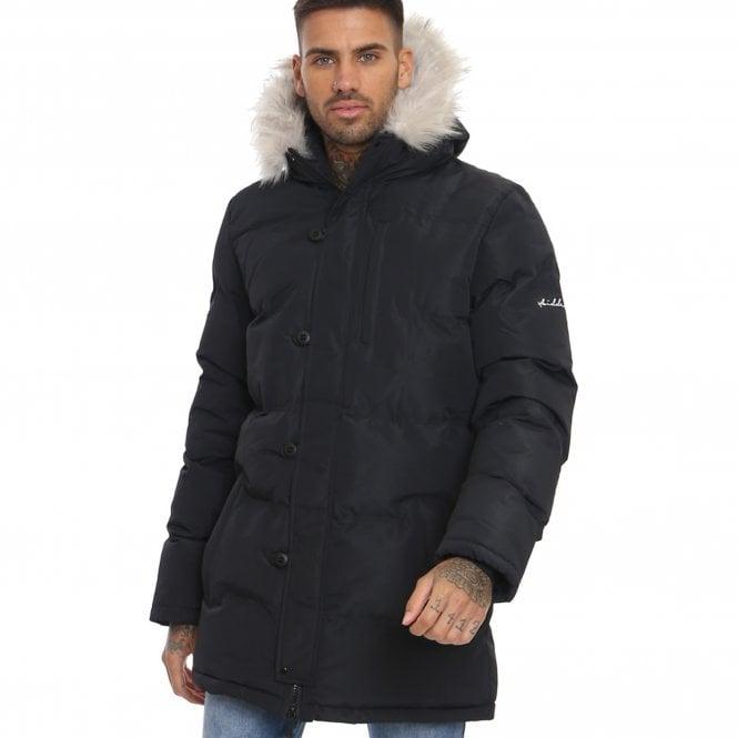 29e582ae2 4bidden 4Bidden Afton Black Hooded Parka Puffer Coat - 4bidden from ...