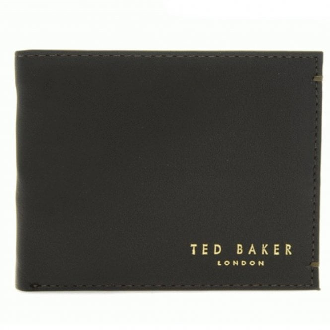 46a9d34ef08 Ted Baker Ted Baker Harvys Brown Leather Bi-fold Wallet With Coin ...