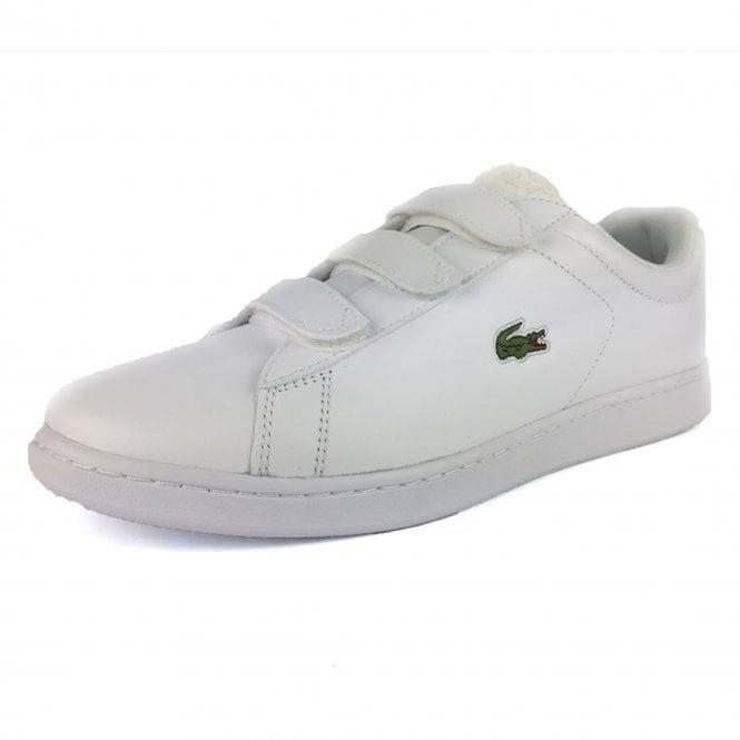 atrakcyjna cena 100% wysokiej jakości Nowy Jork Lacoste Lacoste Carnaby Evo Strap 119 White Leather Trainers