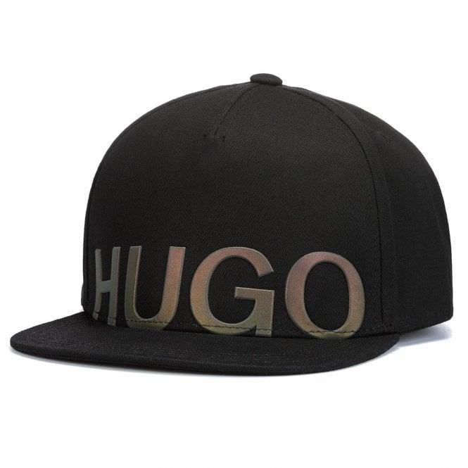 HUGO Boss Men-X Snapback Cap Black 50402177 - HUGO from Club JJ UK 6e671b118cf
