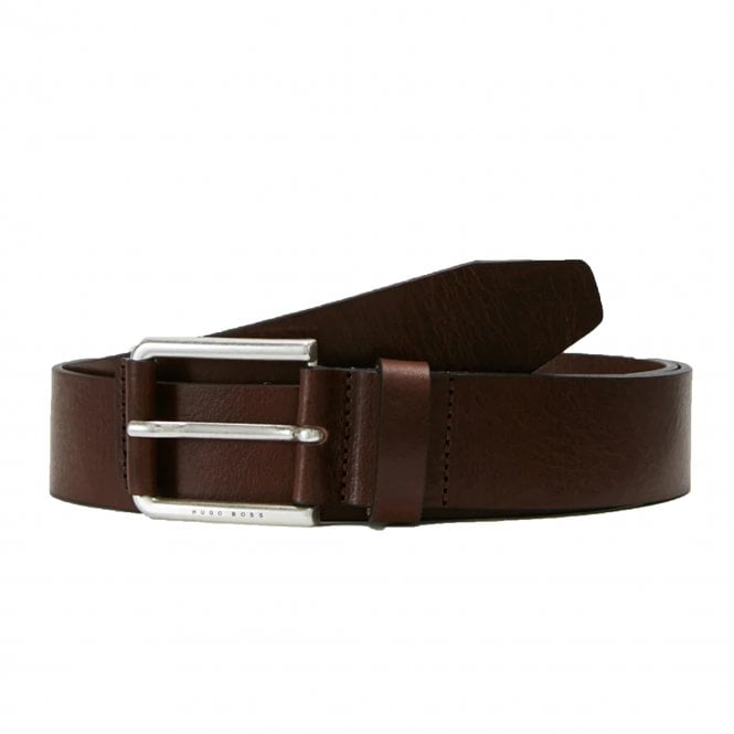 775a7b9011bd Hugo Boss Hugo Boss Jily Dark Brown Leather Belt 50402913 - Hugo ...