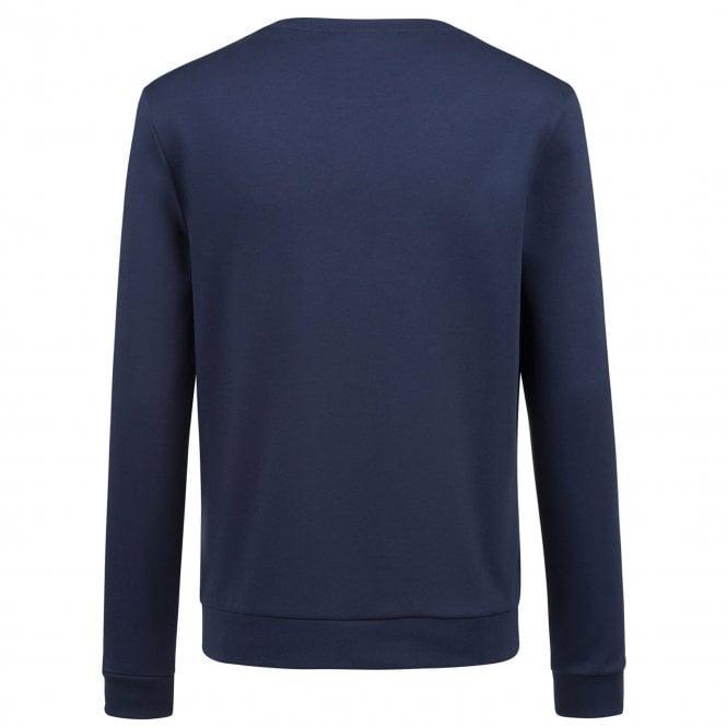 for sale price Official Website Hugo Boss Hugo Boss Dicago Navy 405 Crew Neck Sweatshirt 50399633