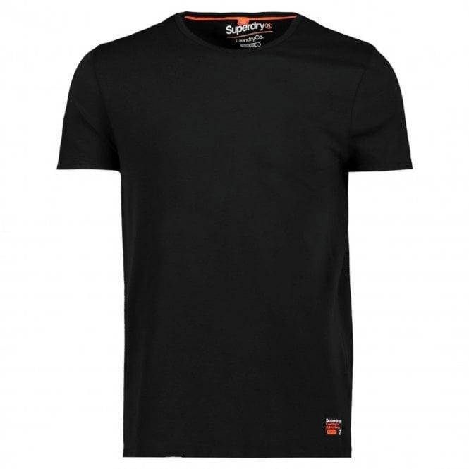 eb750a6c37b2 Superdry 2 Pack Plain White  amp  Black Slim Fit Crew Neck T-Shirts ZY3