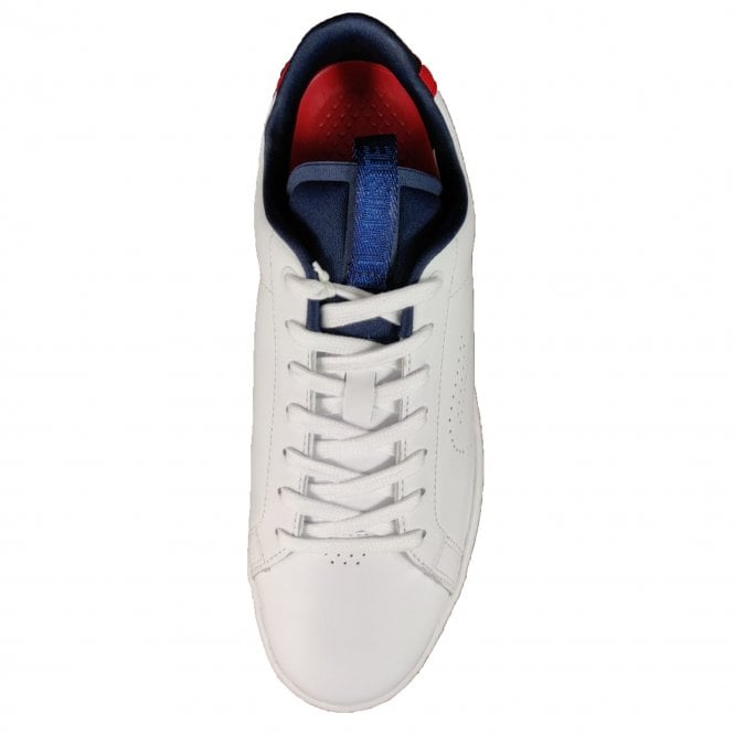 ff9bba563c6d Lacoste Footwear Lacoste Carnaby Evo Light-WT 119 1 White Navy Red ...