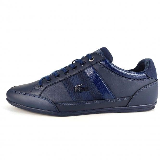 2f7056ebb Lacoste Footwear Lacoste Chaymon 119 2 Navy Blue Trainers - Lacoste ...