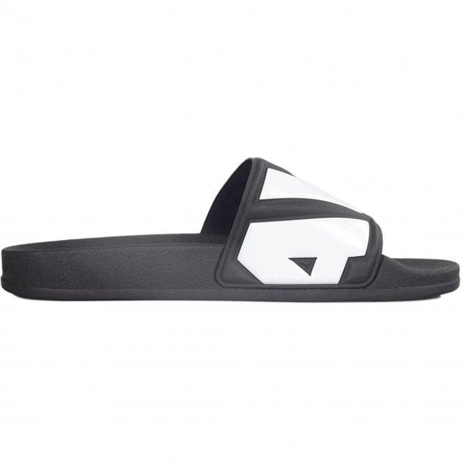 SANDALS BEACH G-STAR FLIP FLOPS WHITE G-STAR CART II SLIDES BLACK BLUE