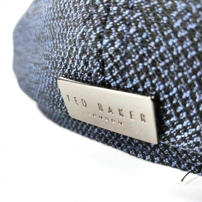 28d224fe438 Ted Baker Ted Baker Treacle Blue Textured Baker Boy Flat Cap - Ted ...