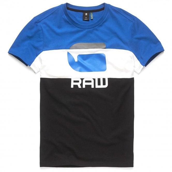 dbf99a737ae0 G-Star G-Star Graphic 41 Logo T-Shirt Blue/White/Black - G-Star from ...