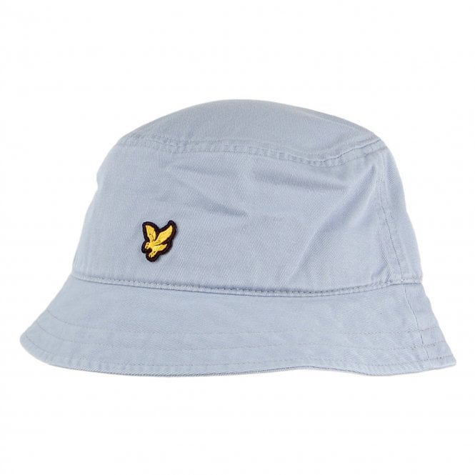 0aed6c0b049ee Lyle   Scott Lyle   Scott Logo Cloud Blue Bucket Hat HE1004A - Lyle ...
